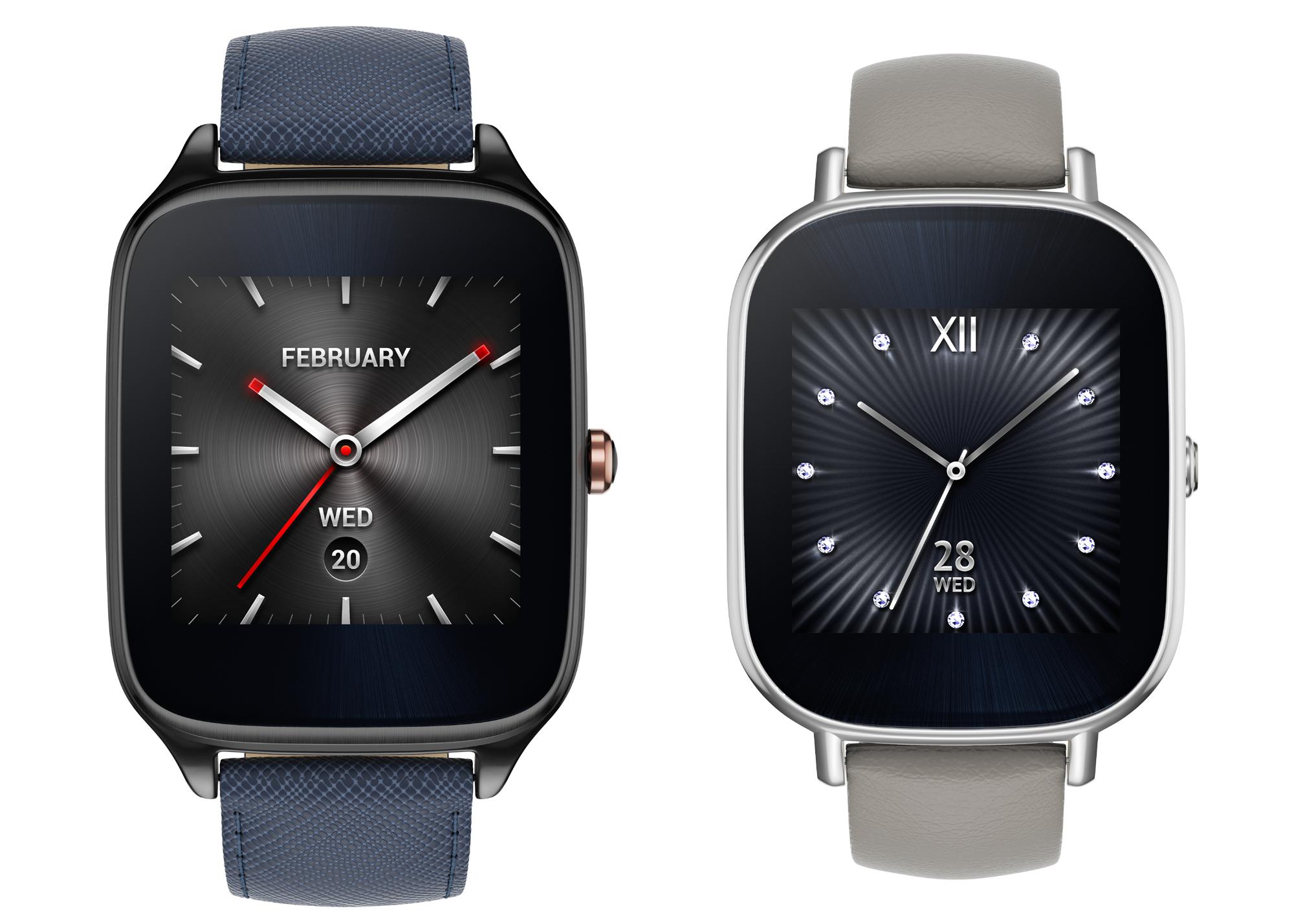 ASUS выпускает смарт-часы ZenWatch 2 в России