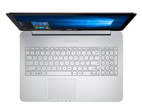 ASUS представила ноутбуки N552 и N752 для развлечений