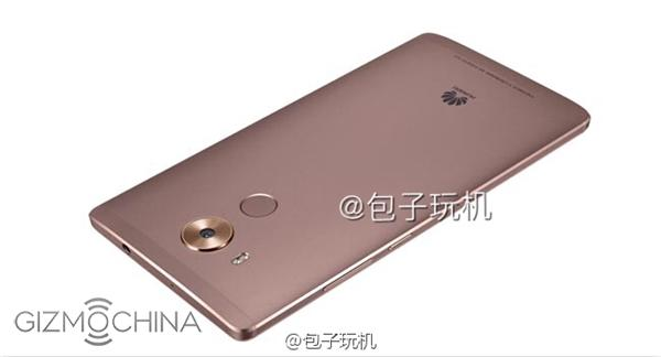 Смартфон Huawei Mate 8 показался на пресс-рендерах