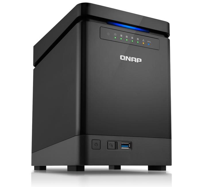 QNAP выпускает четырехдисковое хранилище TS-453 mini для дома и офиса