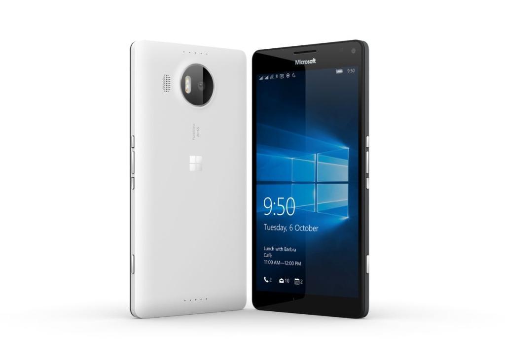 Microsoft выпустила Lumia 950 и Lumia 950 XL в России