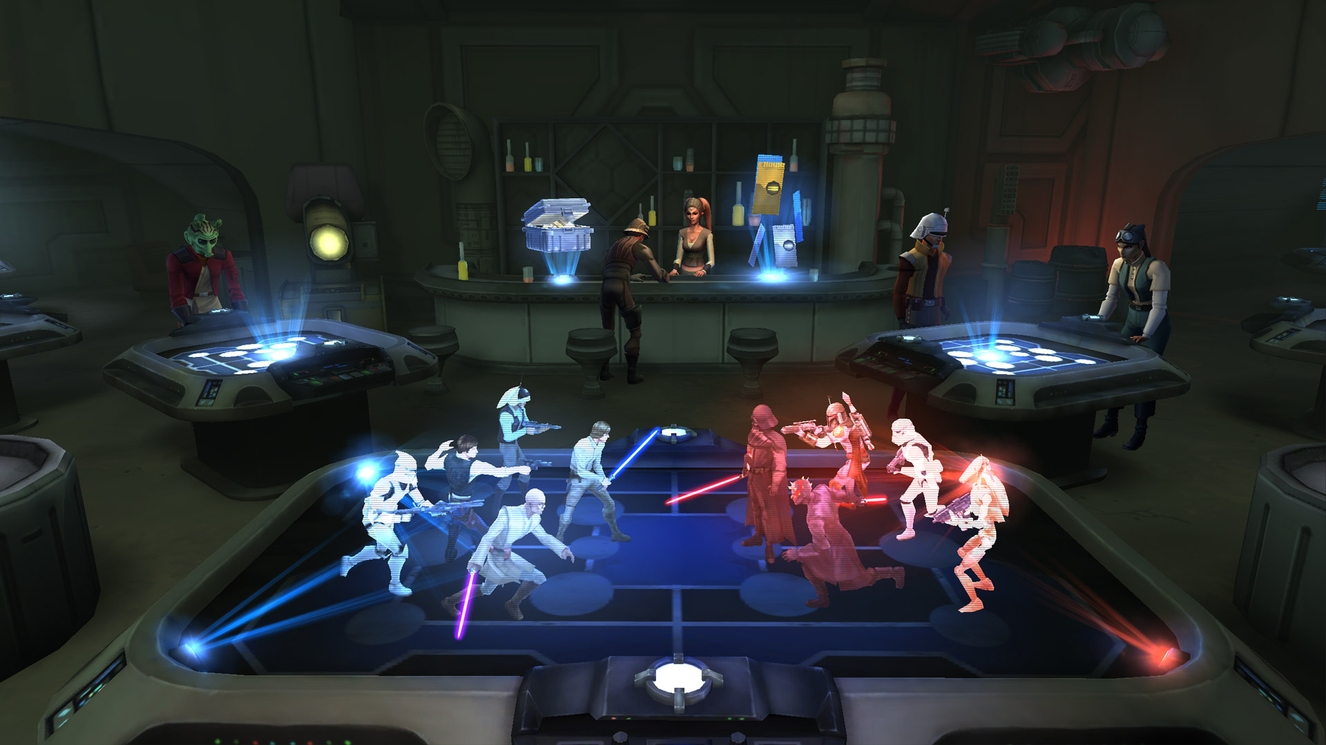 Star Wars: Galaxy of Heroes доступна для  iOS и Android