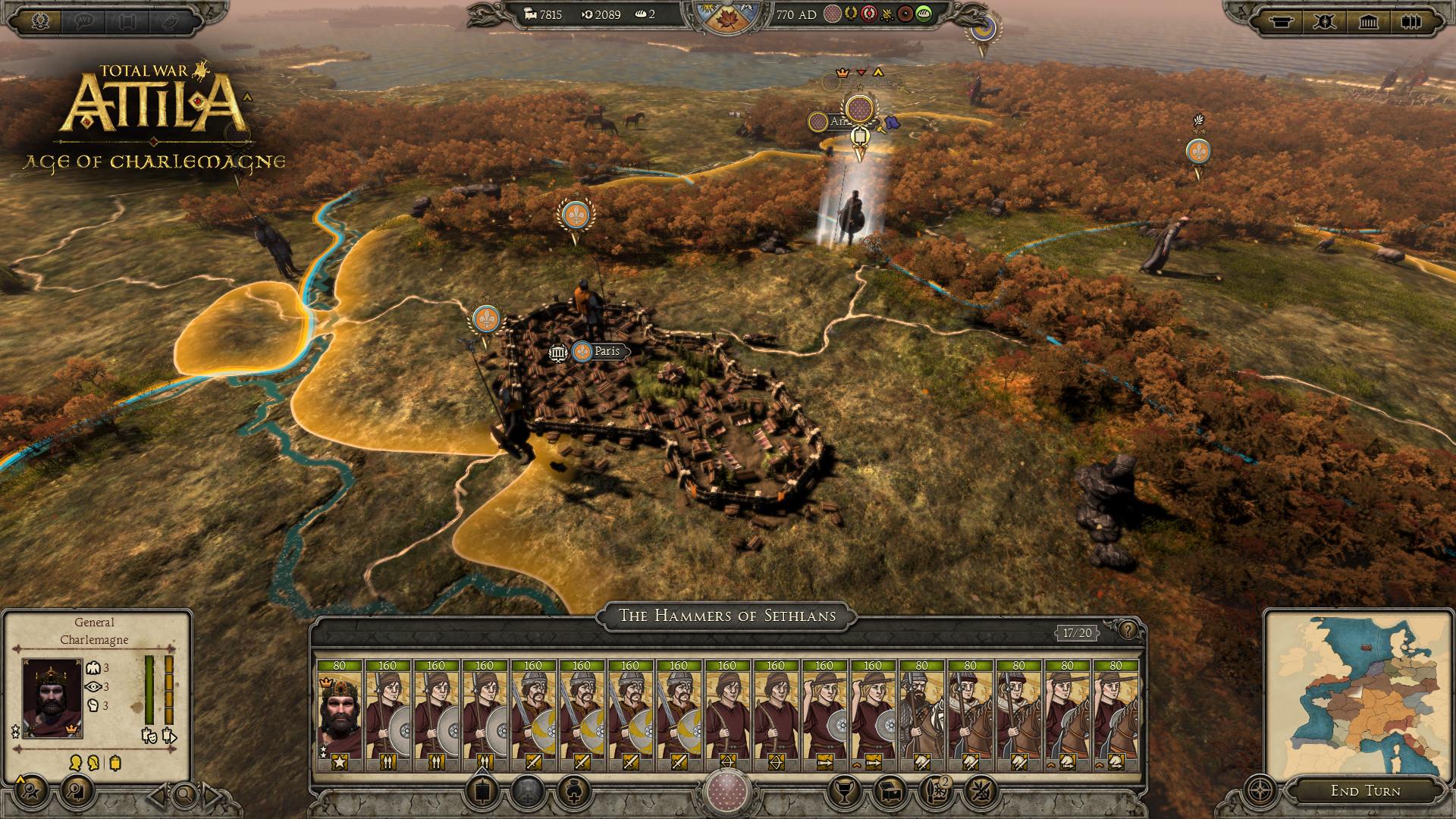 10 декабря в стратегии Total War: Attila начнется  «Эпоха Карла Великого»