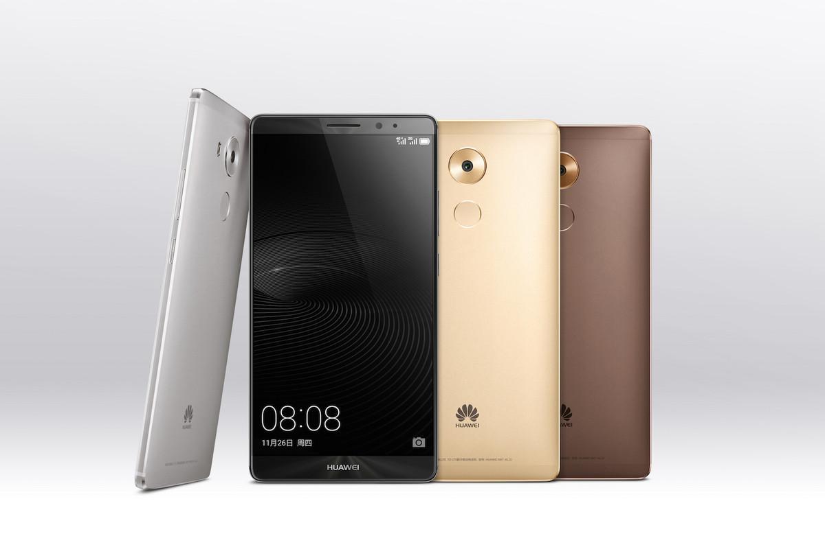 Мощный фаблет Huawei Mate 8 представлен официально