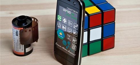 Мини-смартфон Lexand Mini LPH7 Smarty весит 55 граммов