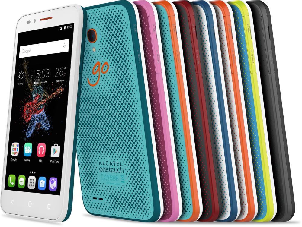 МТС устроит распродажу красочных защищенных смартфонов Alcatel Go Play