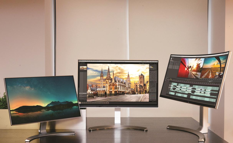 LG представила линейку UltraWide мониторов к CES 2016