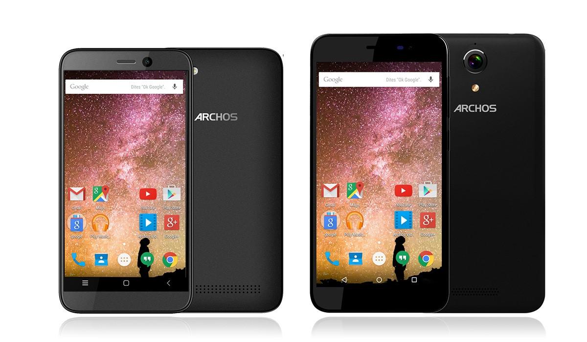 CES 2016: Archos представила бюджетные долгоиграющие смартфоны 40 Power и 50 Power