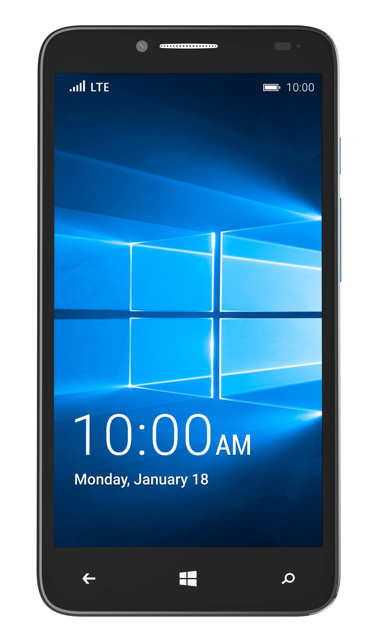 CES 2016: Смартфон Alcatel OneTouch Fierce XL работает на Windows 10 Mobile