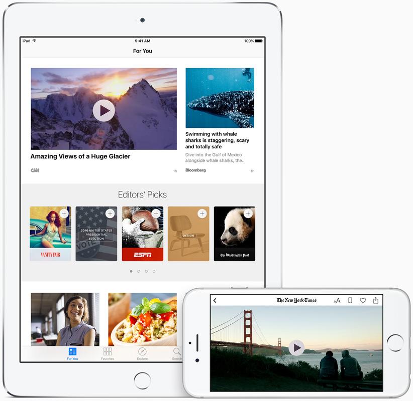 Apple выпустила первую бета-версию iOS 9.3 с ночным и многопользовательским режимом