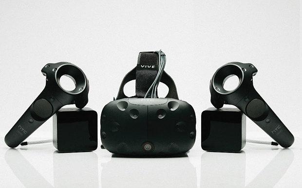 Предзаказ на шлем HTC Vive откроется 29 февраля