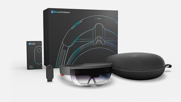 Microsoft начинает поставки голографического шлема HoloLens для разработчиков