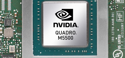 NVIDIA Quadro M5500 стала самой быстрой графикой для ноутбуков