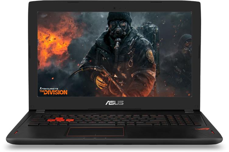 Asus представила игровой ноутбук ROG Strix GL502