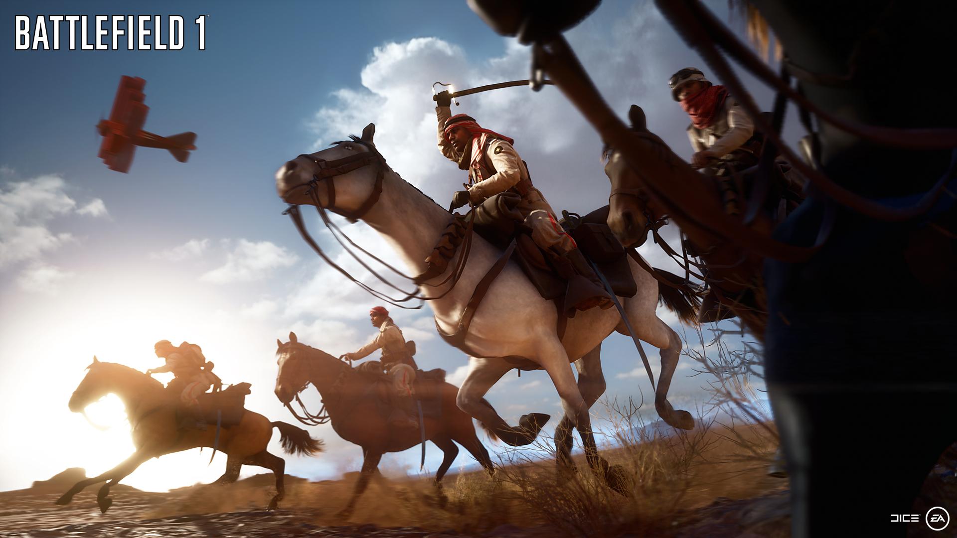 EA показала игровой процесс Battlefield 1