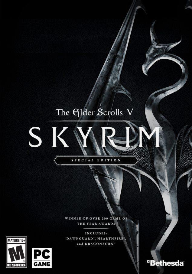 Переиздание Skyrim выходит для PlayStation 4, Xbox One и PC
