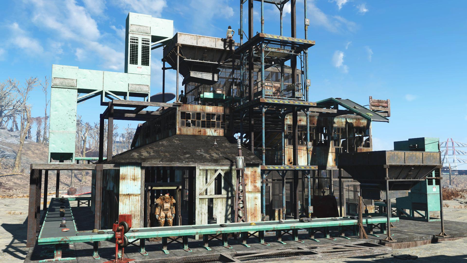 Дополнение Contraptions Workshop вышло для Fallout 4