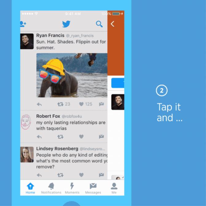 Twitter запускает стикеры для фотографий с возможностью поиска