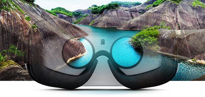 Новый шлем виртуальной реальности Samsung Gear VR начал появляться у ритейлеров