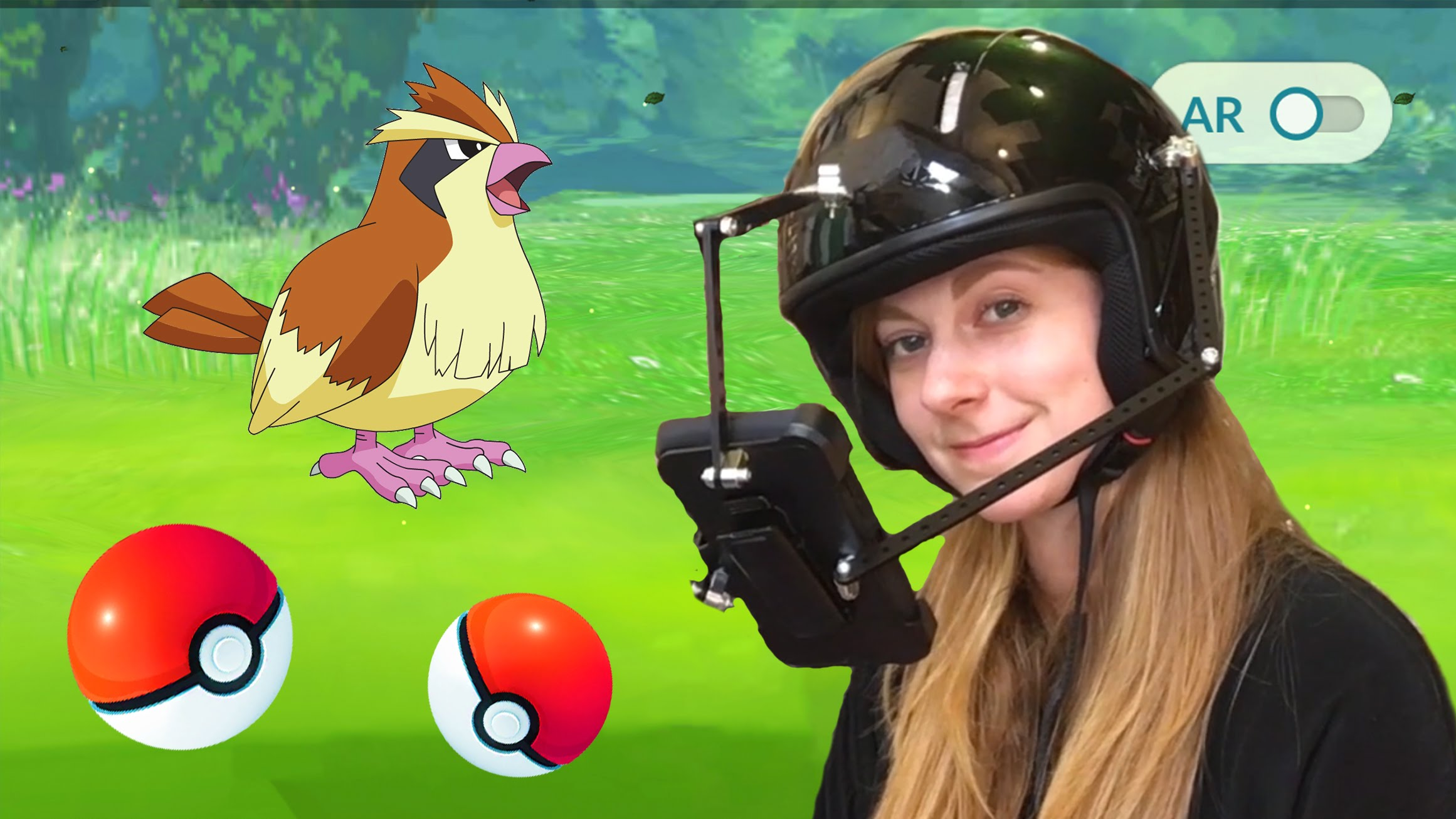 Шлем Pokemon Go защитит голову и удержит смартфон при ловле покемонов