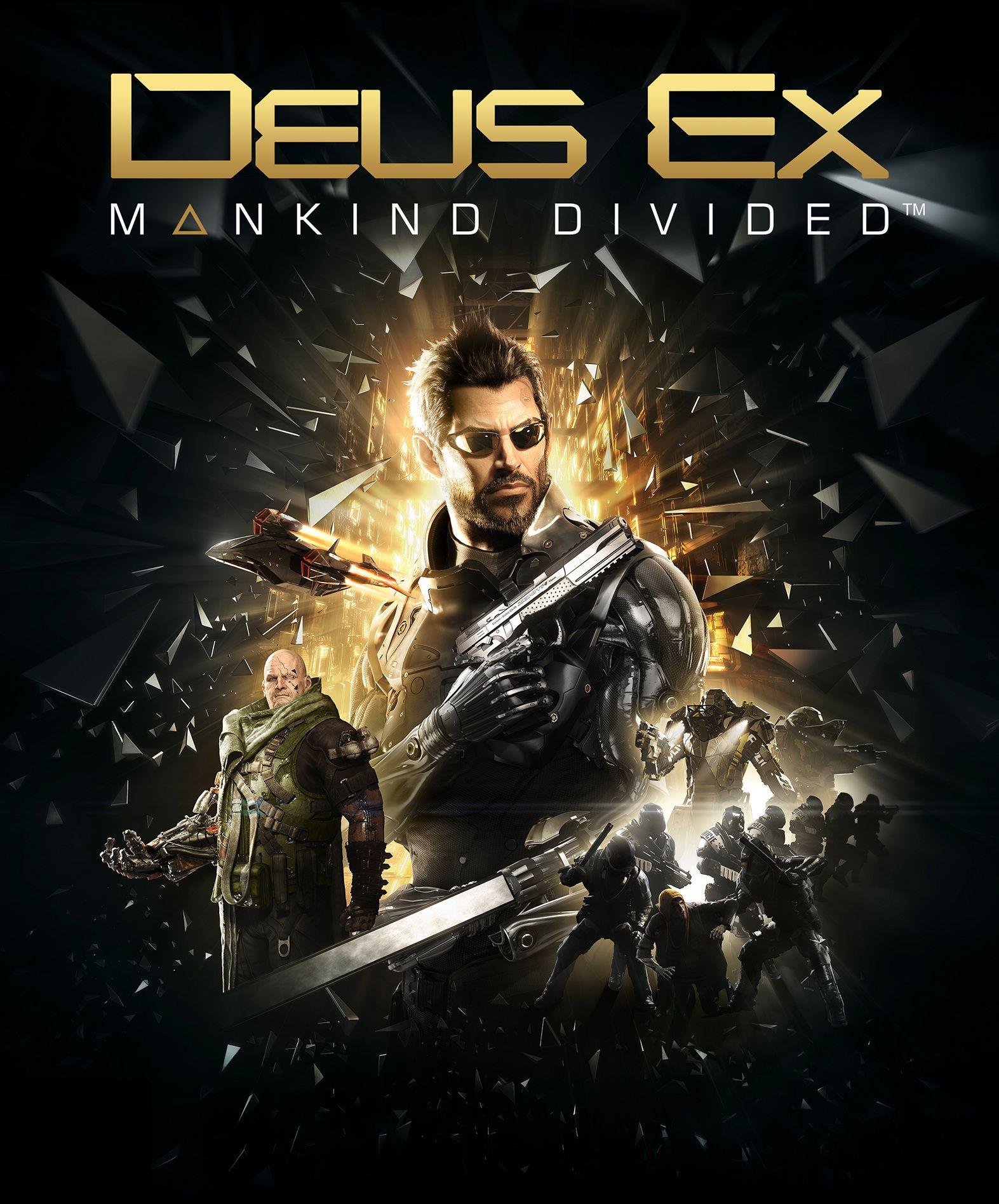 Состоялся релиз игры Deus Ex: Mankind Divided