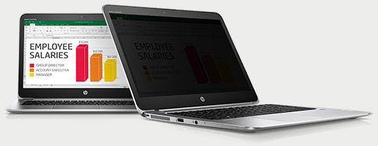 HP Sure View защитит экран ноутбука от подглядывания