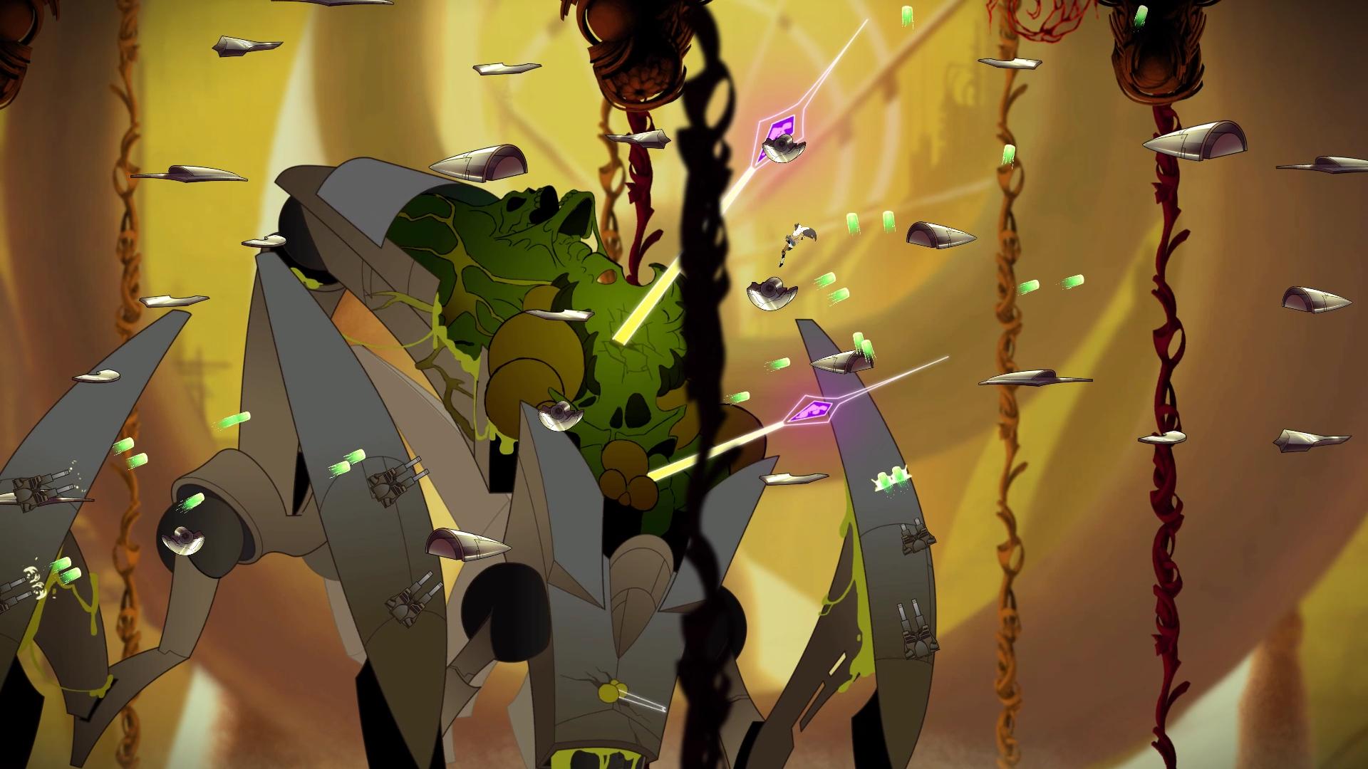 Анонсирована стильная игра Sundered для PC и PS4