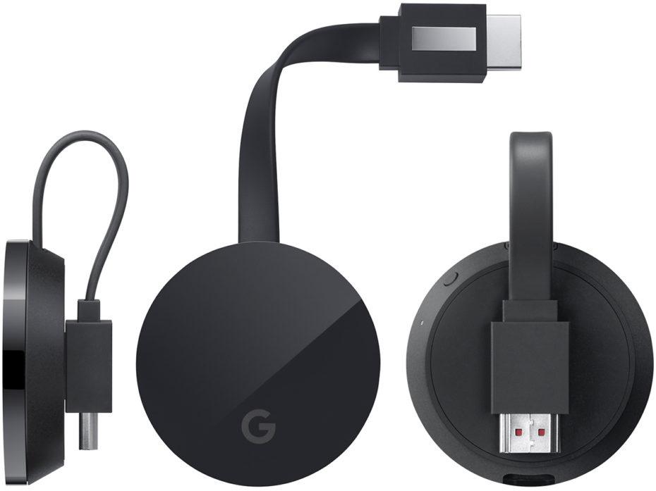 Google готовит Chromecast Ultra с поддержкой 4K