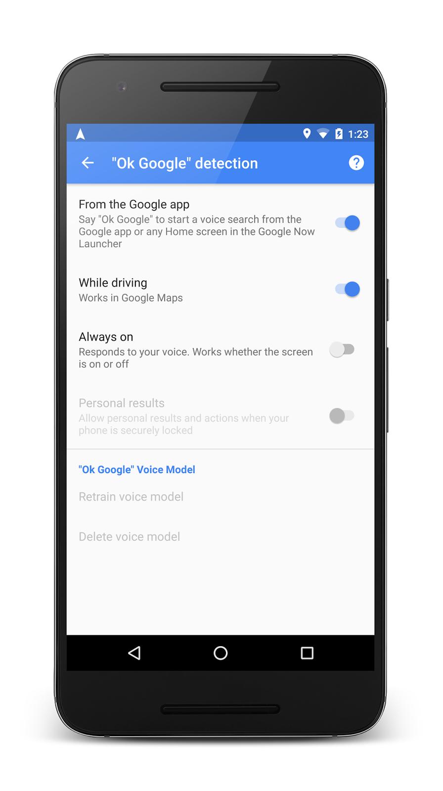 Google Maps научились новым голосовым командам