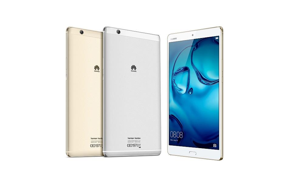 Планшет Huawei MediaPad M3 поступает в продажу
