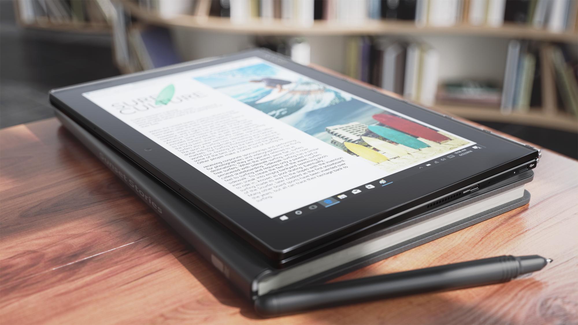Гибридные планшеты Lenovo Yoga Book на базе Android и Windows доступны в России