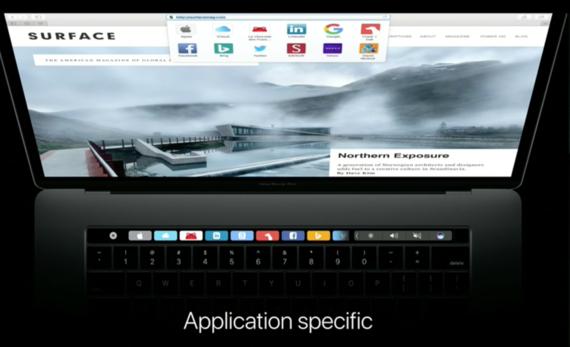 Apple представила переработанный MacBook Pro с OLED-тачбаром