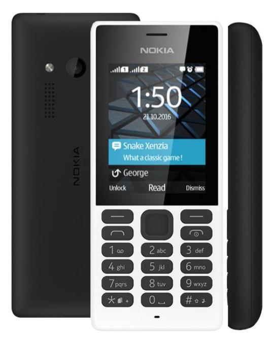 Телефон Nokia 150 и 150 Dual SIM