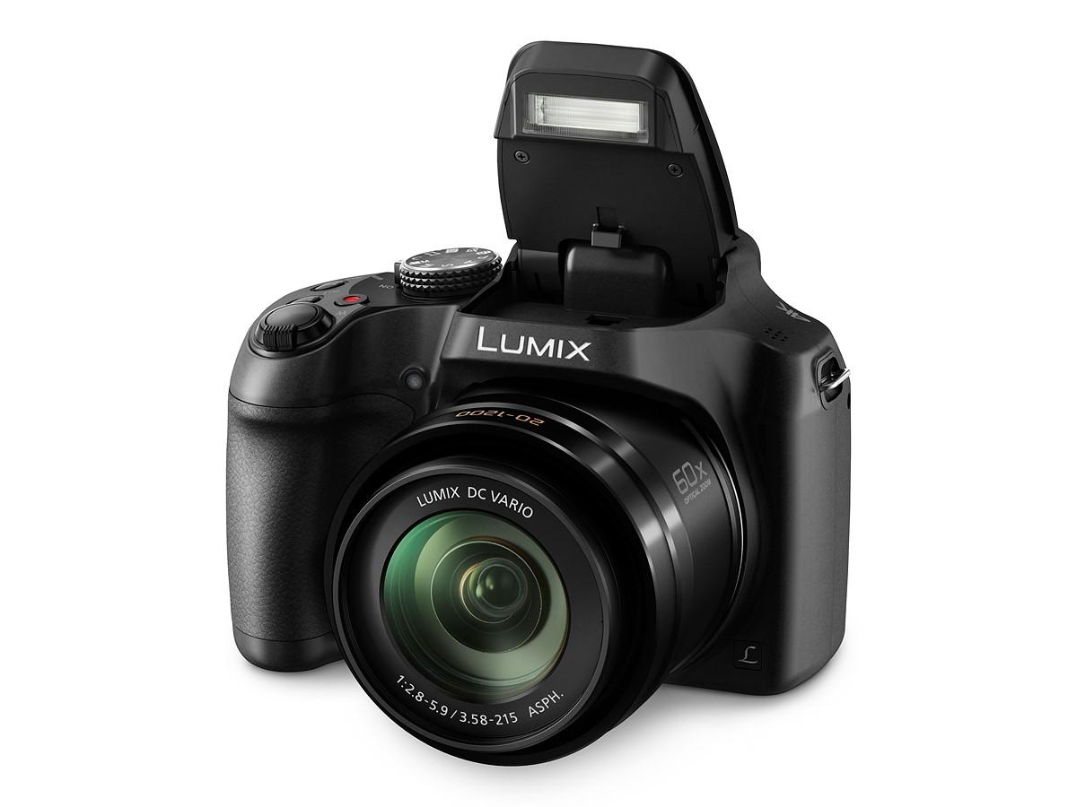 CES 2017: Камера Panasonic Lumix FZ80 обеспечивает 60-кратный зум