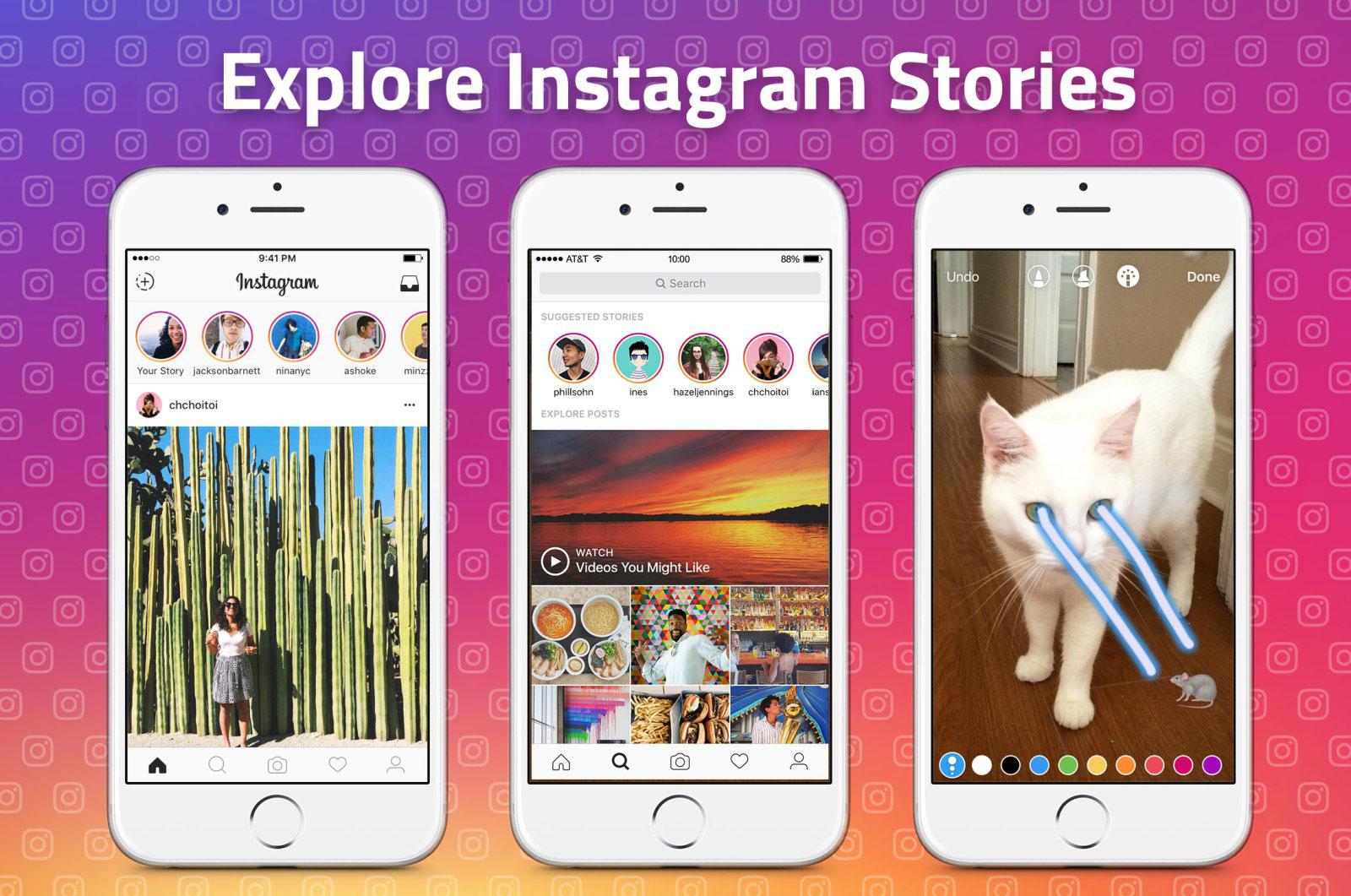 Instagram запустил показ рекламы в «Историях»