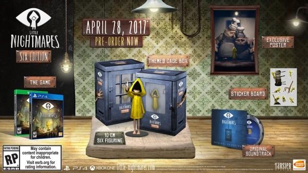 Bandai Namco назвала дату выхода Little Nightmares