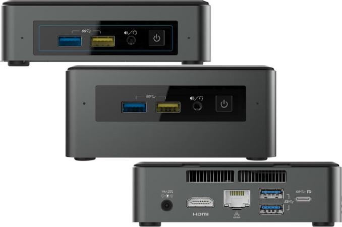 Intel перводит мини-ПК Baby Canyon NUC на Kaby Lake