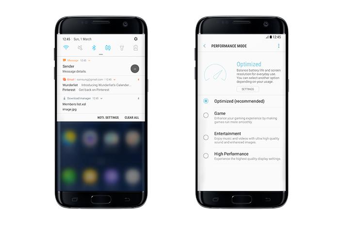 Android 7.0 Nougat для Galaxy S7 и S7 Edge