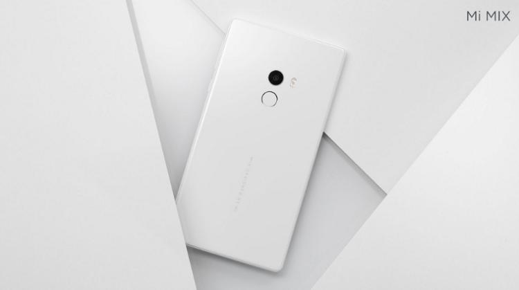 Белый Xiaomi Mi Mix вскоре поступит в продажу