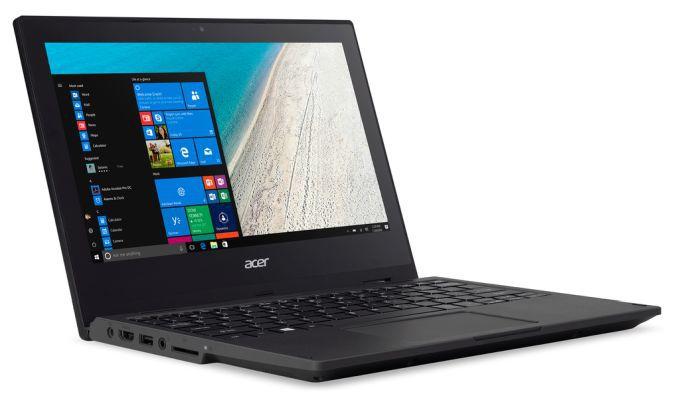 Acer представила ноутбук-перевретыш TravelMate Spin B1