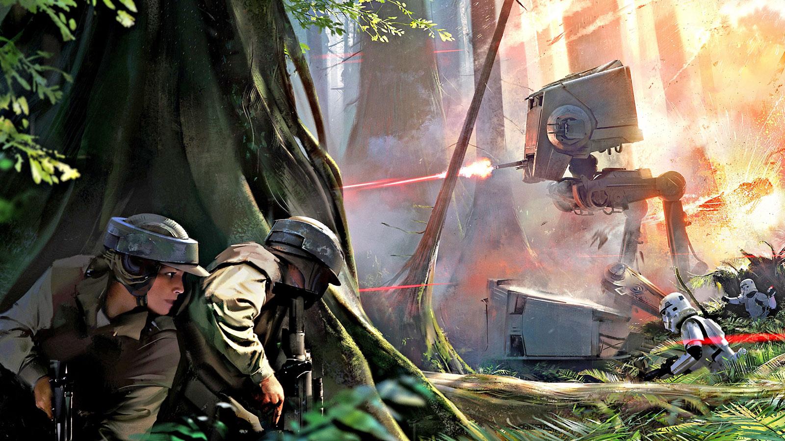 Опубликована новая информация о Star Wars Battlefront 2