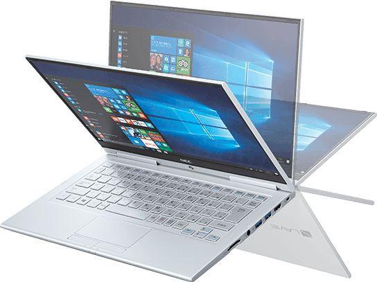 Ноутбук-перевертыш NEC LaVie Hybrid Zero