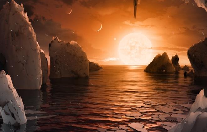 NASA: обнаружена система с тремя потенциально пригодными для жизни планетами
