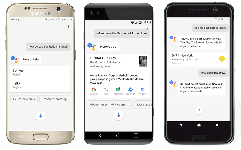 Google Assistant для всех Android-смартфонов