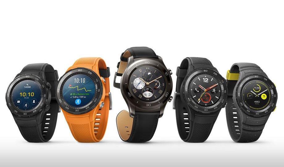 Смарт-часы Huawei Watch 2 и Watch 2 Classic