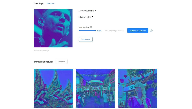 Prisma предлагает инструмент для самостоятельного создания фильтров