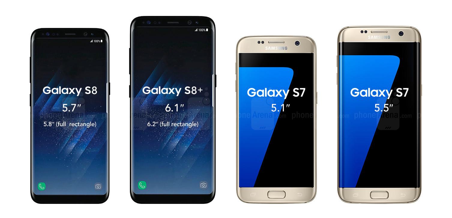 samsung galaxy s8 s8 plus galaxy s7 s7 edge