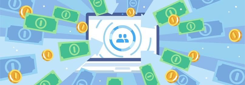 Перевод денег сообществам ВКонтакте
