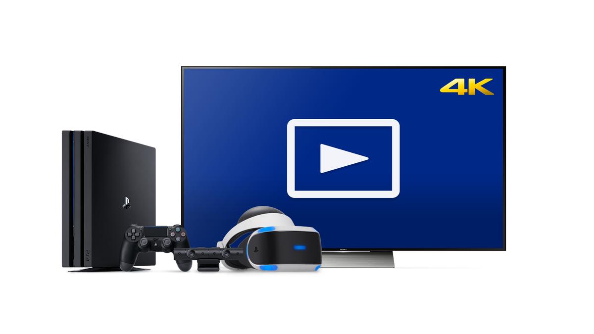 Обновление медиаплеера добавляет поддержку 4K на PlayStation 4 Pro