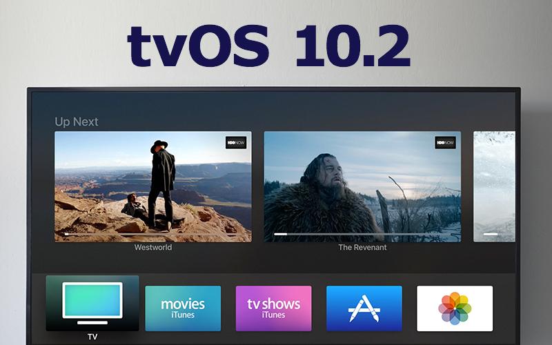 Apple выпустила tvOS 10.2 с улучшенной прокруткой